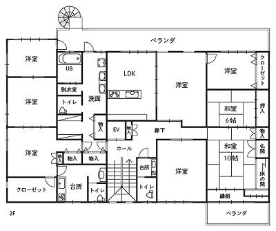 2階は至って普通なのに…